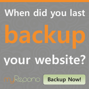 myRepono - Website, WordPress & mySQL Database Backup Service