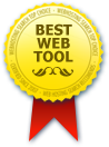 WebHostingSearch.com Best Web Tool Award
