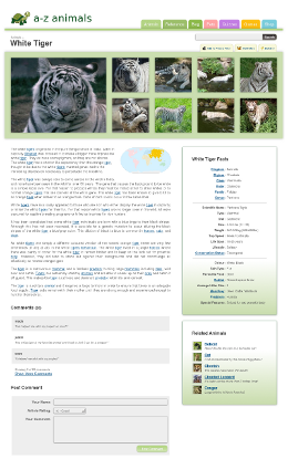 A-Z-Animals.com Animal Encyclopedia