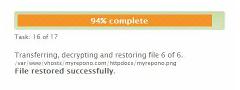 Express Backup Restoration