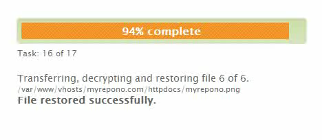 Restore Your Website Files & Databases