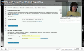 Watch Mikey Leung's Review of the myRepono WordPress Backup Plugin